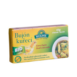 Chicken broth (6 cubes) (66 g)