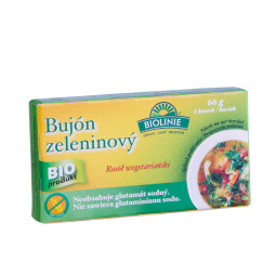 Vegetable broth (6 cubes) (66 g)