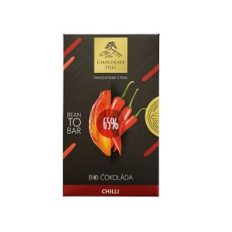ORGANIC Bean To Bar 60% chocolate with chilli