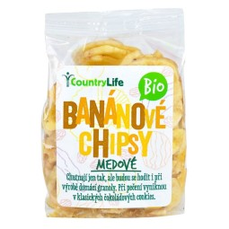 ORGANIC Banana chips with honey