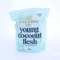 ORGANIC Coconut flesh frozen