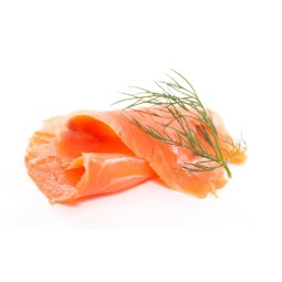 Smoked salmon sliced approx. 200 g