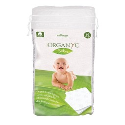 Organyc baby cleansing squares