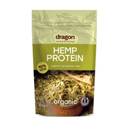 Hemp protein powder 46% ORGANIC 200g DRAGON