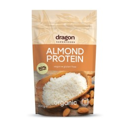 Almond protein powder 50% ORGANIC 200g DRAGON