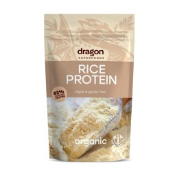 Rice protein powder 83% ORGANIC 200g DRAGON