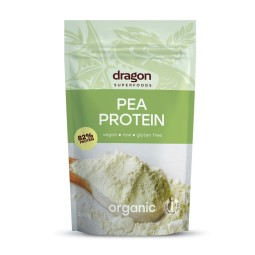 Pea protein powder 82% ORGANIC 200g DRAGON