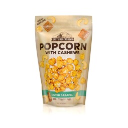 Popcorn with cashews salted caramel 90g