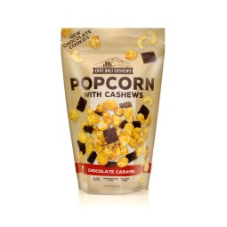Popcorn with cashews chocolate caramel 90g