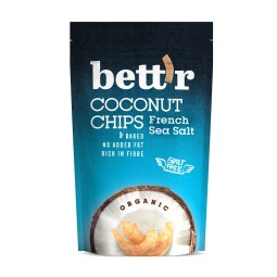 Coconut chips with sea salt ORGANIC