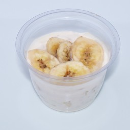 Banana & Honey white yogurt