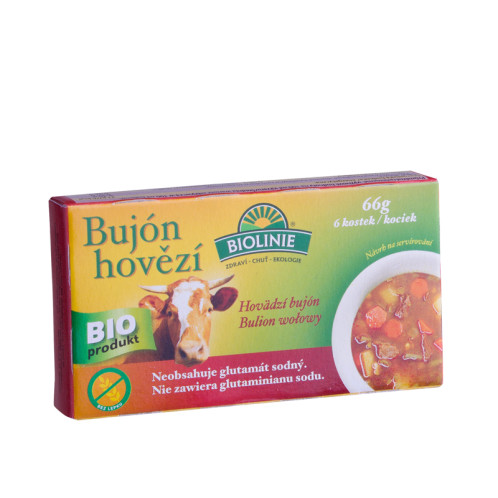 ORGANIC Beef broth in cubes