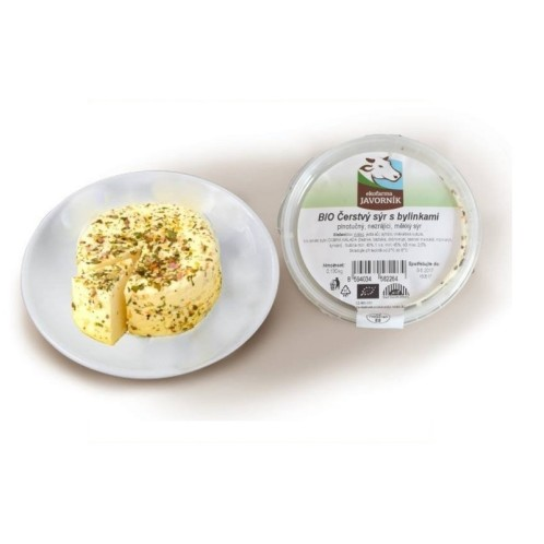 ORGANIC Fresh cheese with herbs