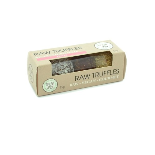 Raw Truffles strawberry-orange